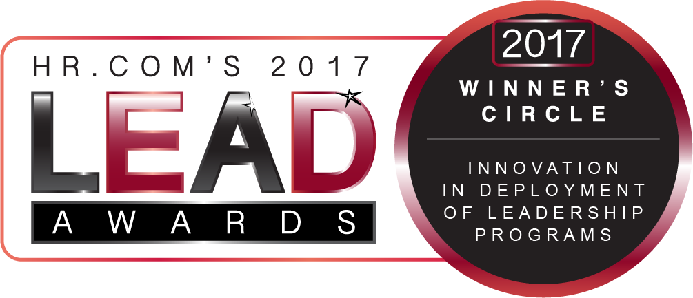 HR.com 2017 Lead Award Badge